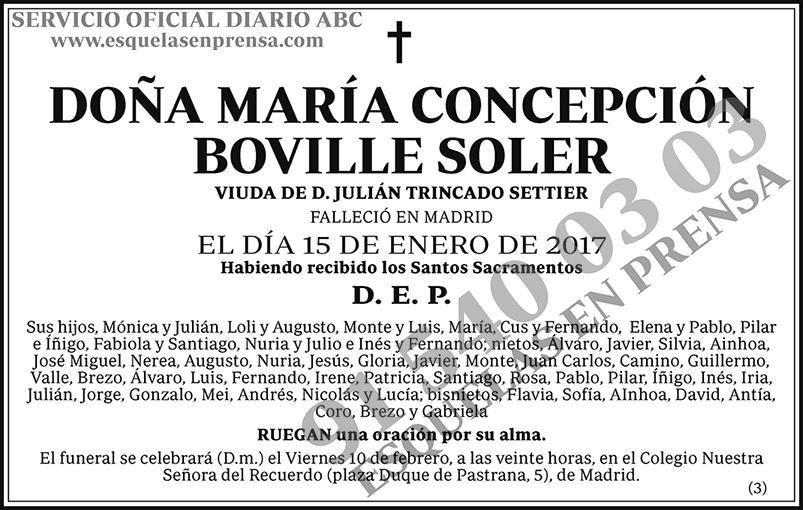María Concepción Boville Soler